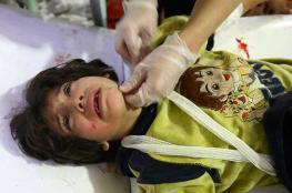 مقتل اكثر من 1400 مدني في الغوطة الشرقية بسوريا خلال الشهر الحالي