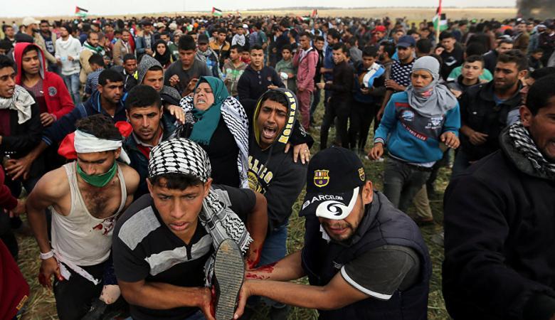"""منظمة """"هيومن رايتس ووتش"""": قادة الحكومة الاسرائيلية اعطوا الضوء الأخضر لقتل الفلسطينيين"""