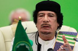 """للمرة الأولى..""""الصندوق الأسود"""" للقذافي يكشف تفاصيل صادمة عن لحظة مقتله"""