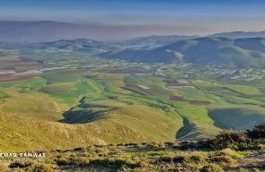 الطبيعة الخلابة في جبال طوباس شمال الضفة الغربية