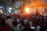 مصريون يتظاهرون في ميدان التحرير ويطالبون برحيل السيسي