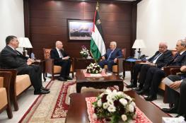 """لقاء بين الرئيس """"عباس """" ومبعوث الرئيس الامريكي ترامب"""
