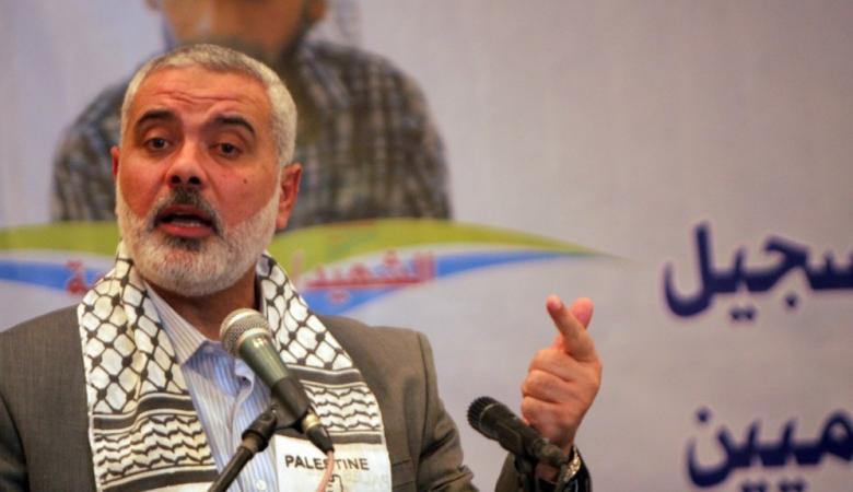 هنية : سنلاحق من استهدف موكب رئيس الوزراء في غزة