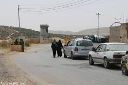 الاحتلال يشدد من اجراءاته بين نابلس وجنين