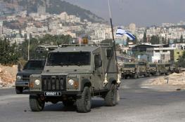 مركبة عسكرية اسرائيلية تدهس شاباً وفتى من قباطة جنوب جنين