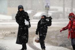 الراصد الجوي ينشر احتمالات تساقط الثلوج على فلسطين
