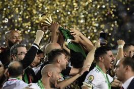 الجزائر تحرز لقبها الثاني بعد 29 عاما
