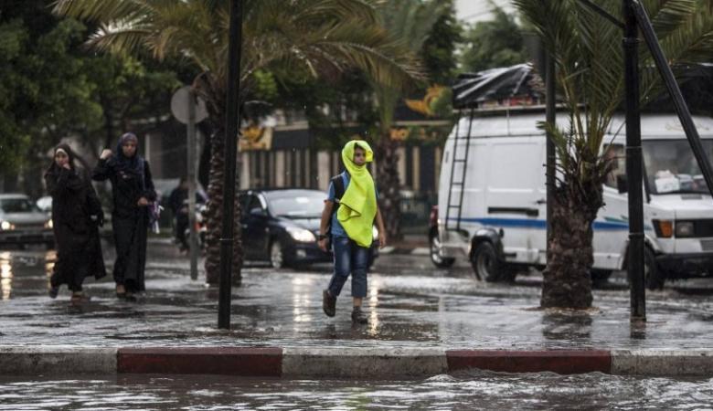 حالة الطقس: أمطار خفيفة متفرقة على المناطق الشمالية