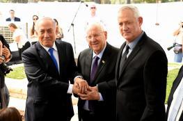 نتنياهو يلتقي بغانتس ويدعوه لتشكيل حكومة وحدة