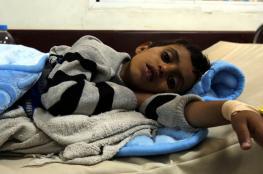 مليون إصابة بالكوليرا في اليمن بعد ألف يوم من الحرب عليها