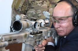 """بوتن يشيد بالسلاح الروسي ويؤكد: """" لا مثيل له في العالم """""""
