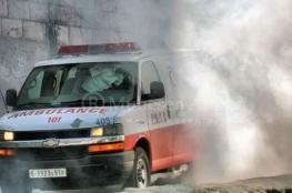 بالصور.. تصادم مروع بين سيارة فلسطينية وباص ينتج عنه ضحية وإصابات خطيرة
