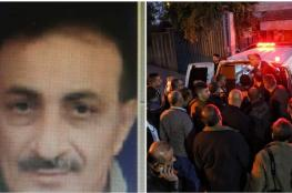 """جنين : الاحتلال يسلم جثمان الشهيد """"حمدان العارضة """""""