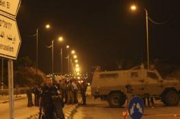 الاحتلال يعلن عن مواعيد جديدة للعمل على حاجز جبع