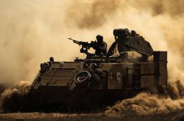 الجيش الاسرائيلي يبدأ تدريبات عسكرية في الجولان والأغوار