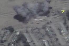 """روسيا تعلن عن قتل """" 80 """"  عنصرا من داعش وتدمير رتل كامل في سوريا"""
