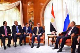 روسيا تعرض على الرئيس المصري أسلحة جديدة