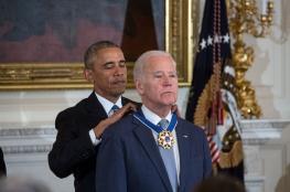 اوباما يكرم بايدن بارفع وسام رئاسي بأمريكا