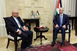 الحمد الله يبحث مع السفير القطري سبل دعم قطاع غزة