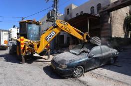 اتلاف 700 سيارة غير قانونية في الضفة الغربية