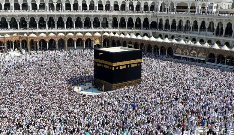 السعودية: وصول مليون حاج من الخارج لأداء الفريضة