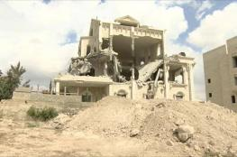 جرافات الاحتلال تهدم منزلا جنوب شرق بيت لحم