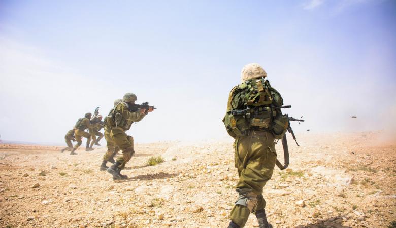 لواء جفعاتي يجري استعدادات مكثفة على حدود قطاع غزة