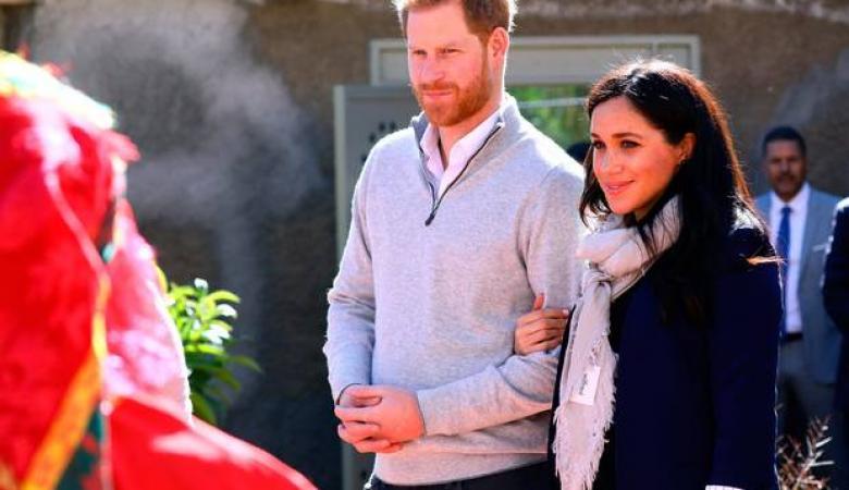"""شاهد ..هكذا استقبل المغرب الامير البريطاني هاري وعقيلته """"ميغان """""""