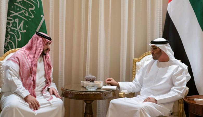 بن زايد يبحث التحديات التي تواجه الخليج مع القيادة السعودية