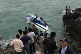 مقتل 4 سياح في تايلند بانقلاب قارب سريع بينهم إسرائيليين