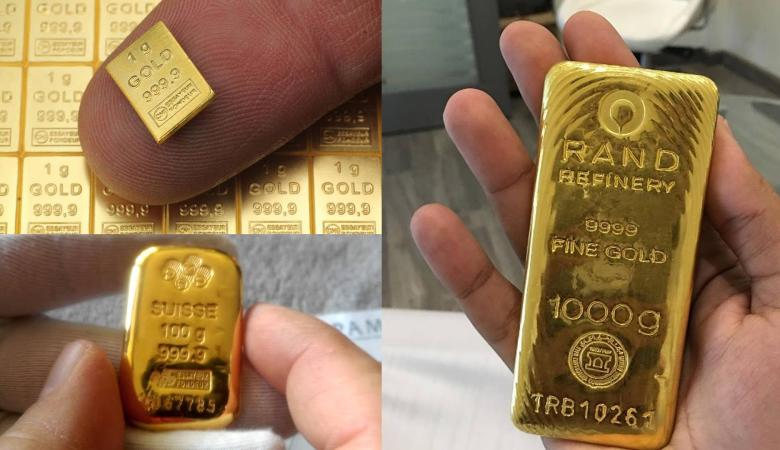 دمغ أكثر من نصف طن من الذهب في الضفة الغربية خلال الشهر الماضي