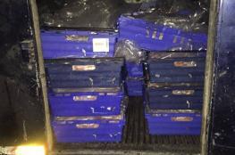 ضبط نصف طن من الدجاج  المهرب في رام الله