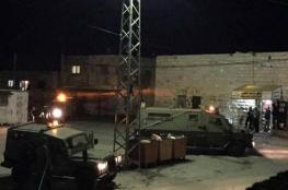 سلفيت: اندلاع مواجهات عقب اقتحام قوات الاحتلال كفل حارس