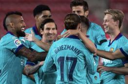 ضربة قوية للفريق..إصابة نجم نادي برشلونة الاسباني
