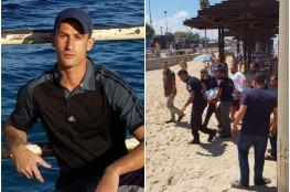 فلسطيني يضحي بنفسه من اجل انقاذ شاب غريق