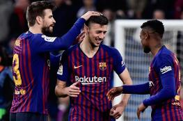 """برشلونة يجدد عقود """"النجوم الأربعة"""""""