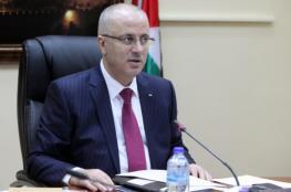 رئيس الوزراء : نابلس لم يبقى فيها اي مطلوب للاجهزة الامنية