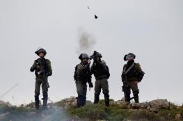 اصابات في مواجهات مع الاحتلال بقرية عوريف جنوب نابلس