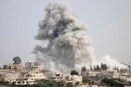مقتل 11 مدنياً في قصف للنظام على منطقة خفض التصعيد شمالي سوريا