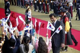 أمير قطر يصل إلى سيئول أولى محطاته في جولته الآسيوية