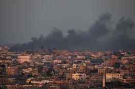 الاحتلال يقصف غزة ويمنع ادخال الوقود الى القطاع