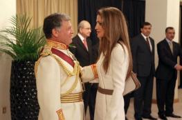 هكذا غازلت الملكة رانية الملك بعيد زواجهما الـ24