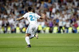 أسينسيو ينقذ ريال مدريد من اول خسارة في الدوري الأسباني