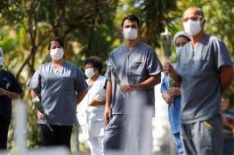 اكثر من نصف مليون اصابة بفيروس كورونا في البرازيل