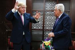 """الرئيس يهنئ """"جونسون """" بفوزه في رئاسة وزراء بريطانيا"""