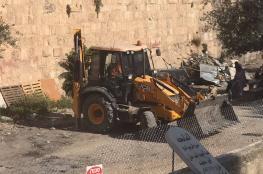 الاحتلال يسيطر على مقبرة في القدس دفن فيها عدد من الصحابة