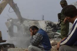 الاحتلال يهدم قاعة افراح على مدخل جبارة جنوب طولكرم
