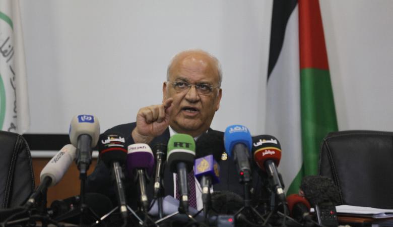 """عريقات: القيادة تقرر وضع آليات لإلغاء الاتفاقيات مع """"إسرائيل"""""""