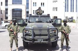 آليات مصفحة جديدة للأمن الفلسطيني