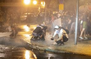 اعتقال عشرات الاسرائيليين في تظاهرات مستمرة ضد نتنياهو